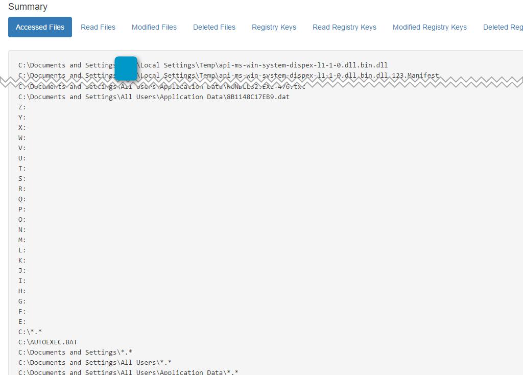 CryptXXX Drive Access Attempts