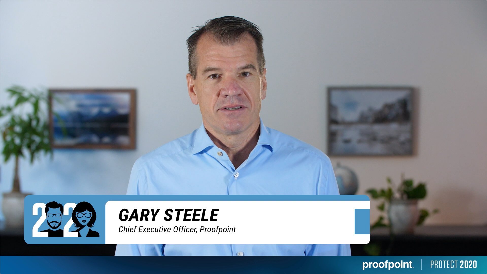 Gary Steele, CEO of Proofpoint