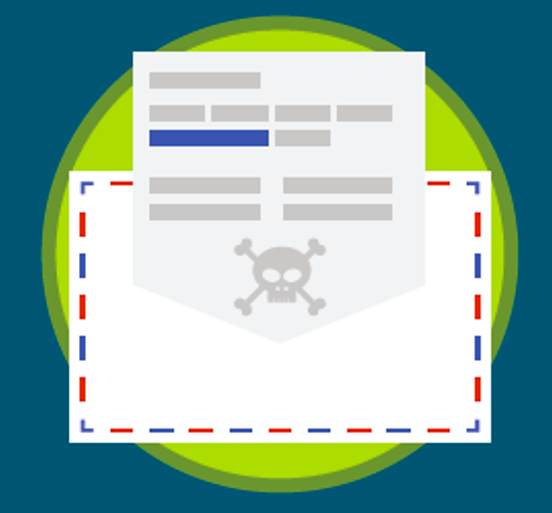 Malicious Email Graphic