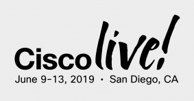 We're heading to Cisco Live in San Diego