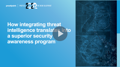How integrating threat intelligence translates into a superior security awareness program