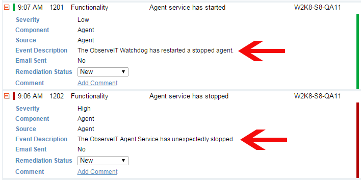 Know when a user kills your monitoring agent process