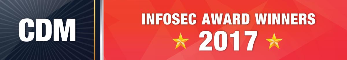 CDM Infosec 2017 Awards