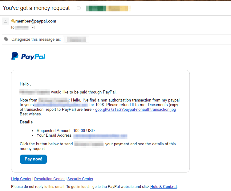 how to receive money on paypal without bank account