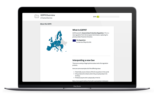GDPR Overview Module
