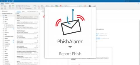 PhishAlarm® Phishing Email Reporting and Analysis