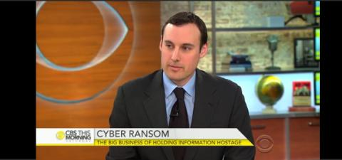 Proofpoint's Ryan Kalember talks to CBS News about cybersecurity threats