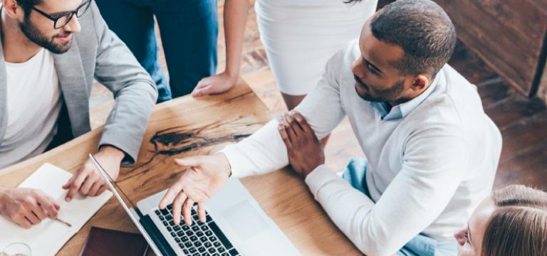 Employees Discuss Digital Brand Risk