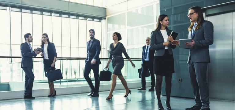 Image of Employees Wearing Suits - Endpoint Security Threats