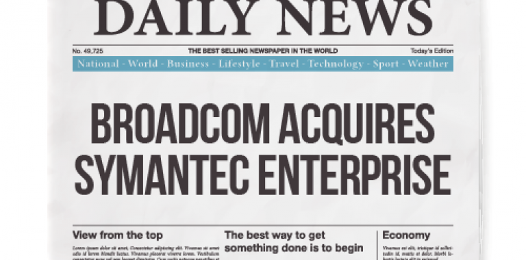 Broadcom Acquires Symantec Enterprise