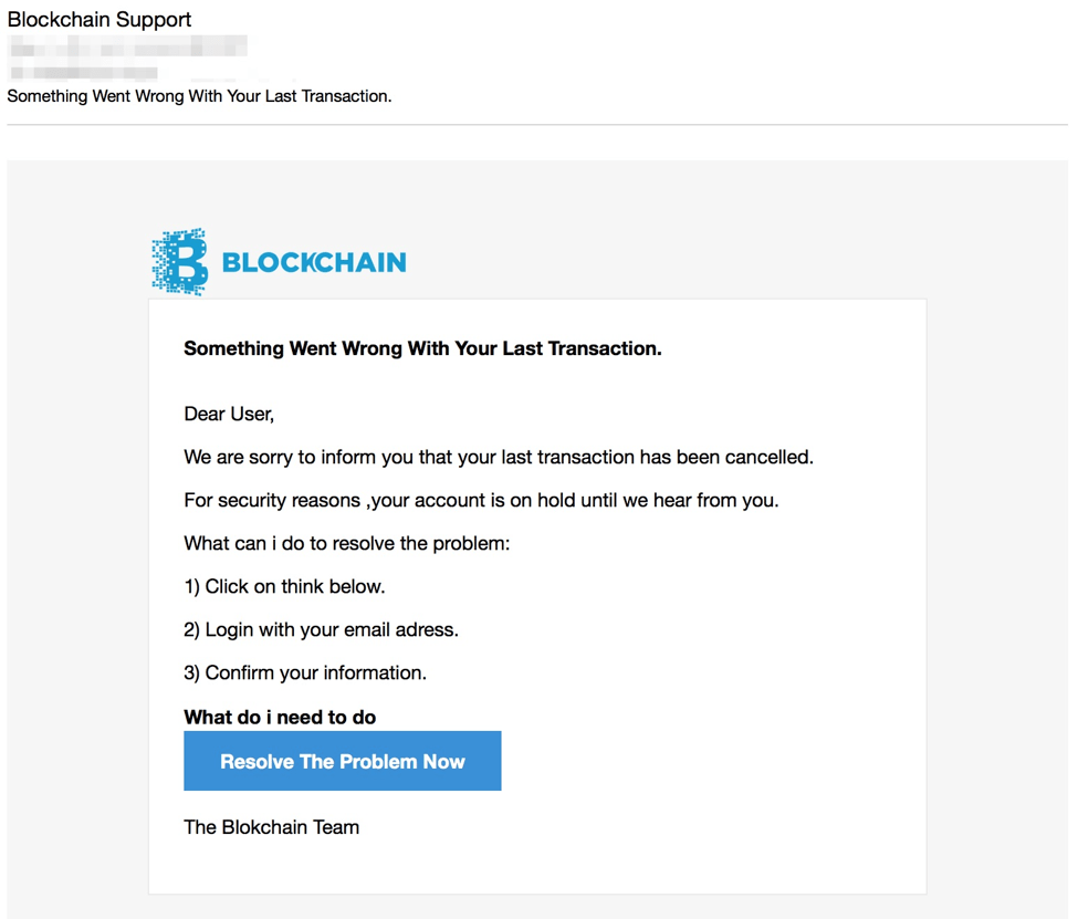 Fake Blockchain Phishing Email Lure4