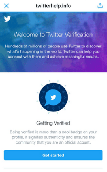 No Shortcuts to Verification: Social Media Verification
