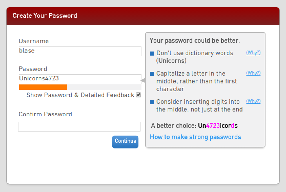 TheConversation-CMU-Password-Meter